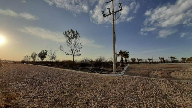 Oferta terreno campestre en esquina 1000m2 lomas del sur,