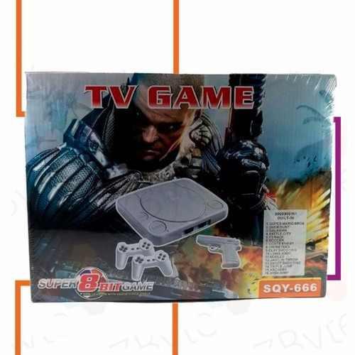 Techtime | consola multi jugadores 2 controles - 16 juegos
