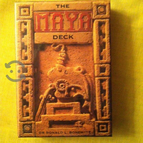 The maya deck tarot importado
