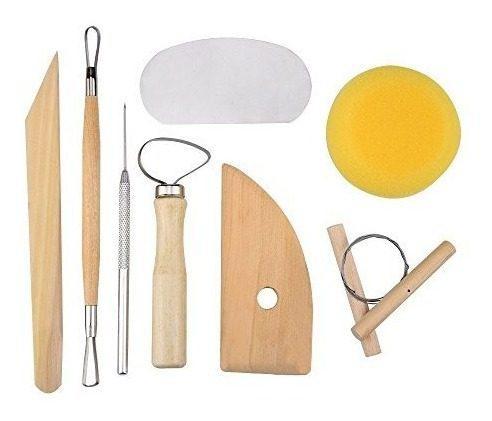 8 piezas set ceramica de arcilla kit de herramientas ceramic