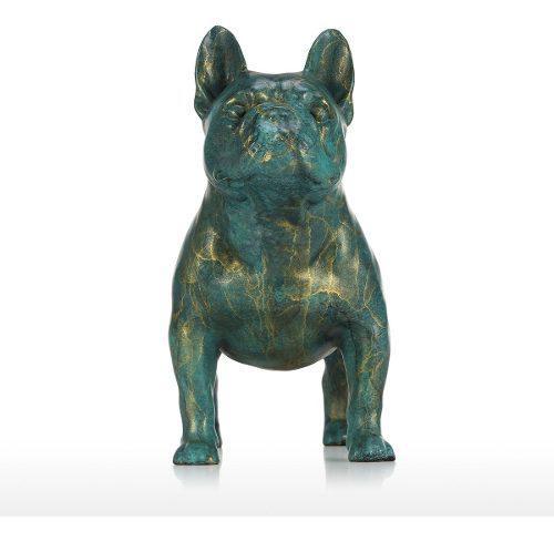 Bulldog estatuas bronce esculturas animal bulldog francés
