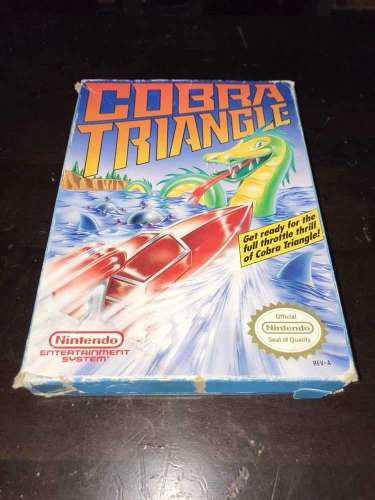 Juego cobra triangle para nintendo nes!!! en caja