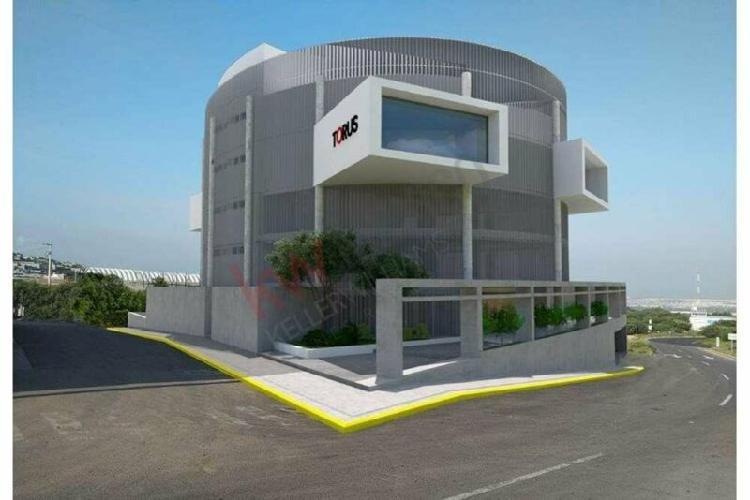 Nuevo edificio de oficinas en junipero, desarrolado por