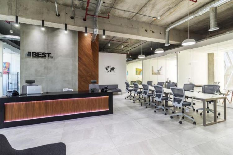 Renta espacio de coworking por solo $199.00 pesos el día en