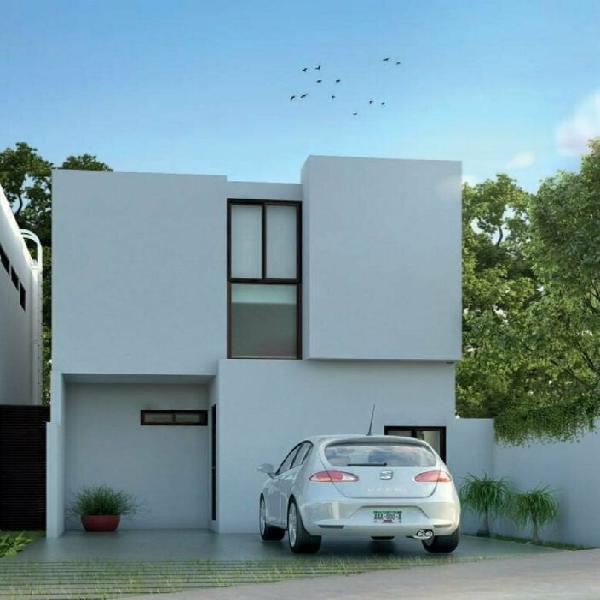 Venta de casas en residencia de zensia mod.f