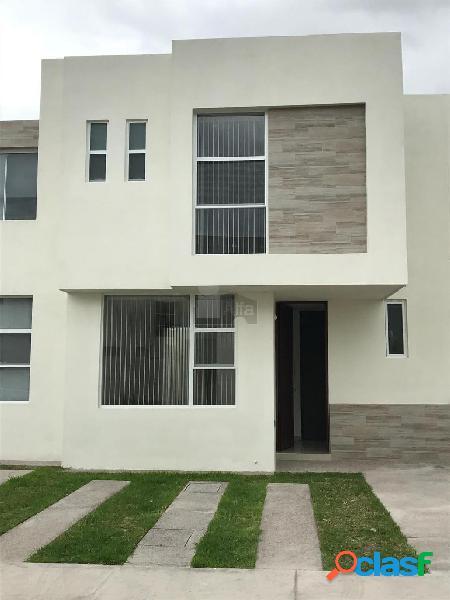 Casa en condominio en renta en Villa de Pozos, San Luis Potosí, San Luis Potosí