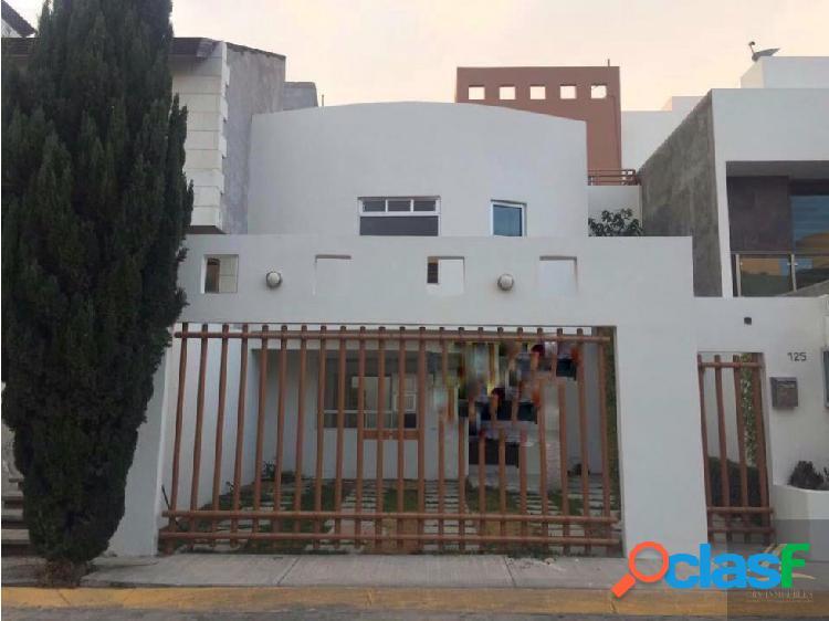 Casa en renta en arboledas de san javier pachuca