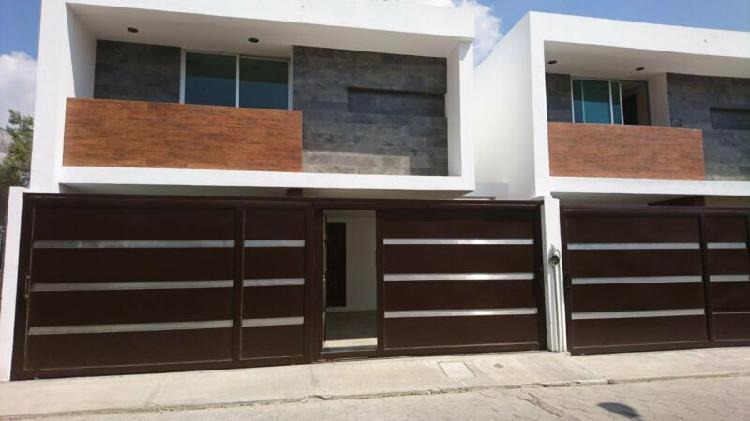 Casa residencial en venta san gabriel cuauhtla tlaxcala