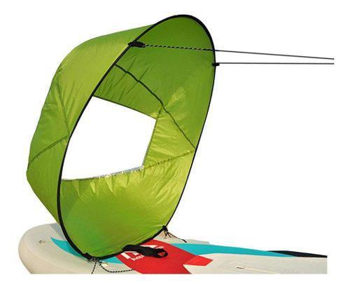 Entretenimiento acuático kayak s vela esférica vela