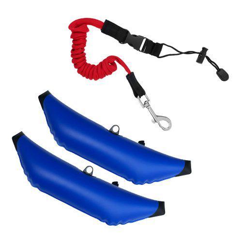 Kayak canoa barco 2 estabilizador inflable estabilizador w