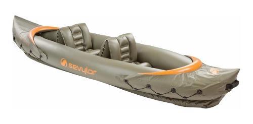 Kayak inflable sevylor tahiti dos personas incluye bolsa
