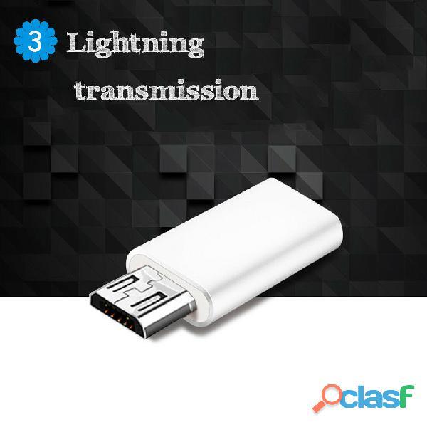 ADAPTADOR MICRO USB MACHO A TIPO C 3.1 HEMBRA 6