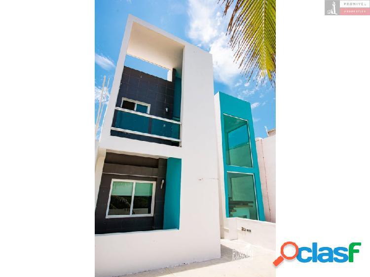 Hermosa casa de playa en renta