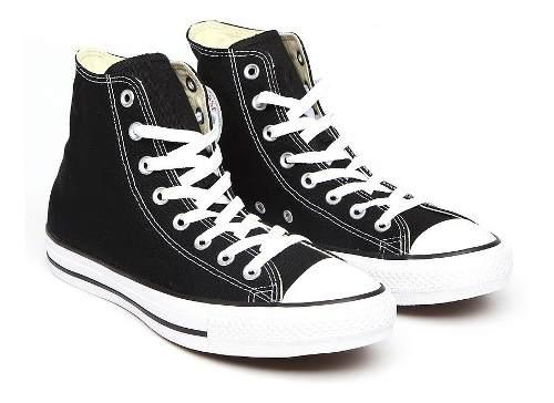 Converse originales bota negro unisex