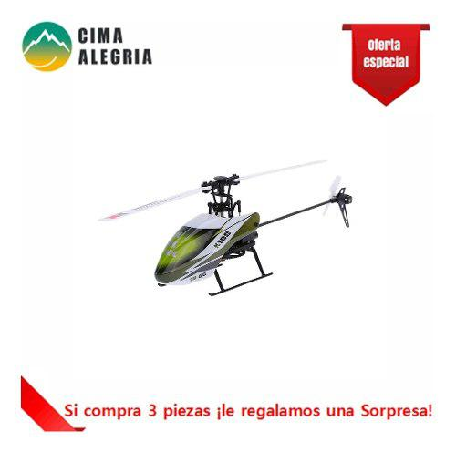 Usado, HELICÓPTERO DRONE XK FALCON K100-B 6CH SISTEMA 3D 6G HELICP segunda mano  México (Todas las ciudades)