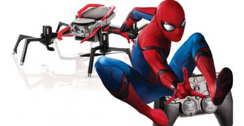 Hombre araña spider-drone marvel oficial