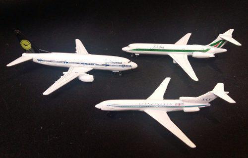Juego de 3 aviones
