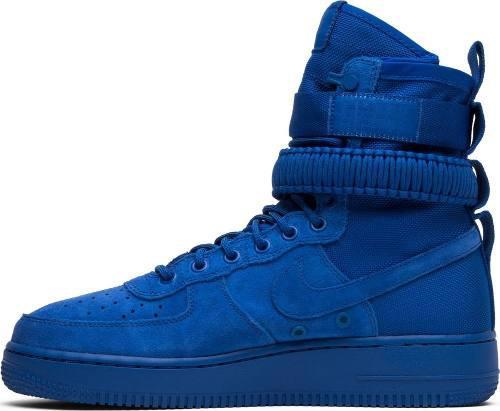 Nike sf air force 1 'game royal' af1 botas mayma sneakers