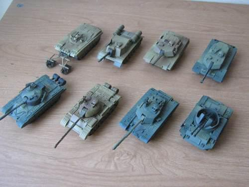 Tanques y carros de combate, modelo 4d no altaya, esc. 1:72