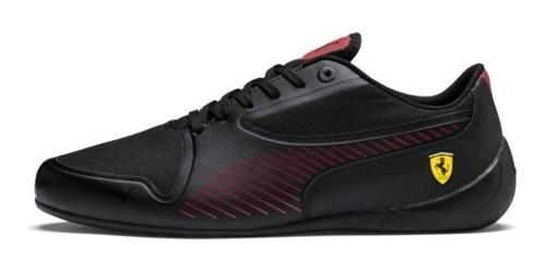 Tenis puma ferrari drift cat 7 ultra negro.rojo total 2019