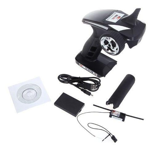 Transmisor de radio control flysky fs-gt2b 2.4g 3 canales