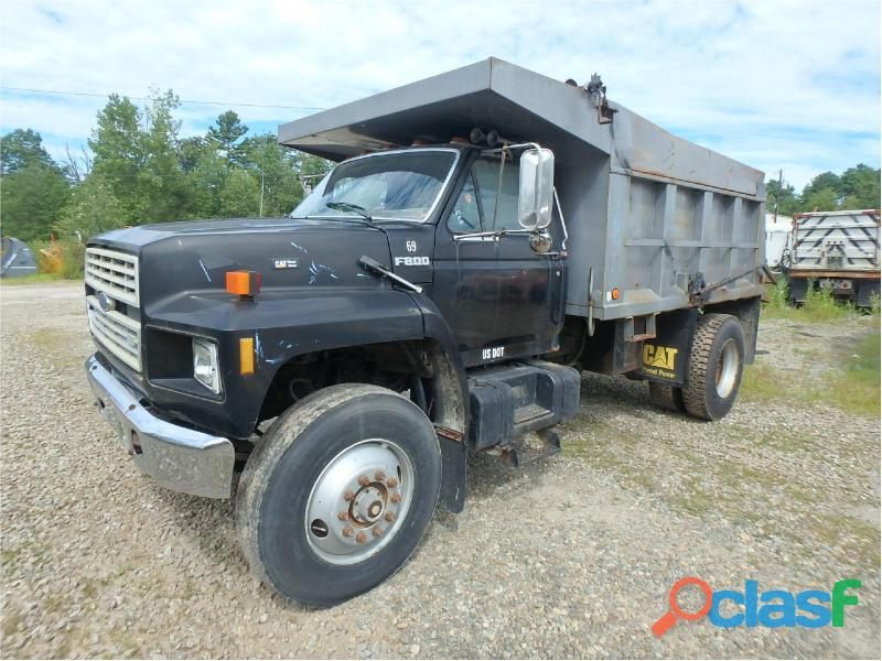 Camion de volteo ford 800