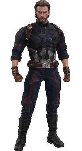 Hot toys marvel avengers infinity war captain america 1/6