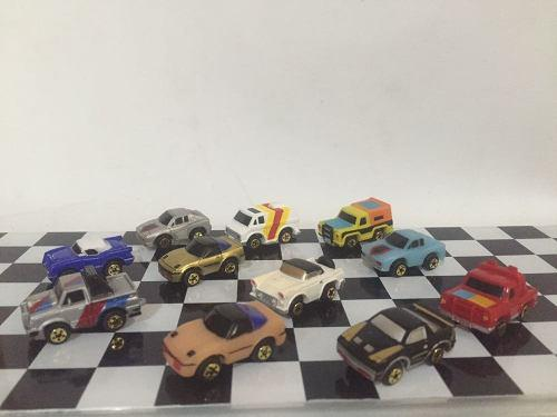 Lote de 11 carros miniatura imperial micromachines rene