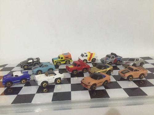 Lote de 12 carros miniatura imperial micromachines rene