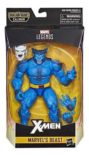 Marvel legends x-men figura malvel bestia 18 cm, 2019