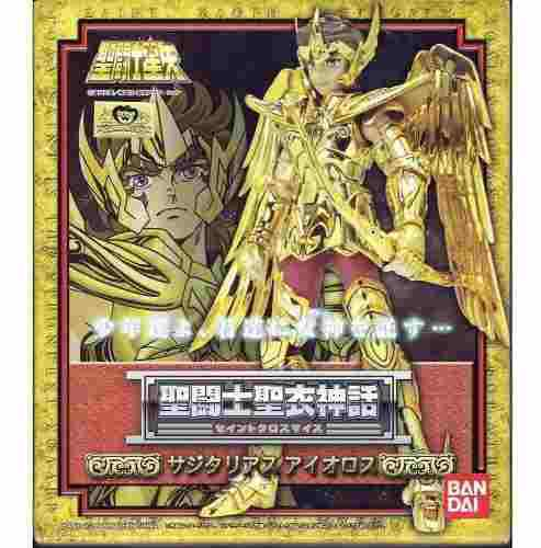 Nuevo myth cloth caballero dorado aioros de sagitario jp