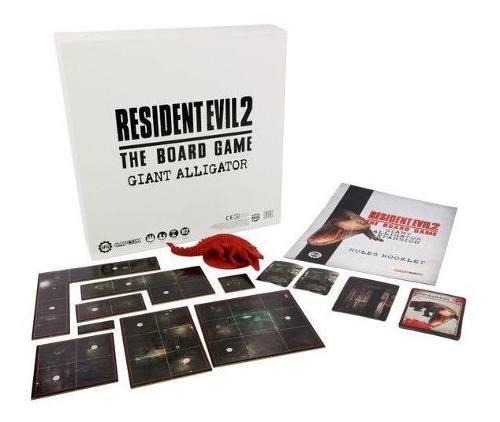 Resident evil 2: the board game giant alligator expansion ju