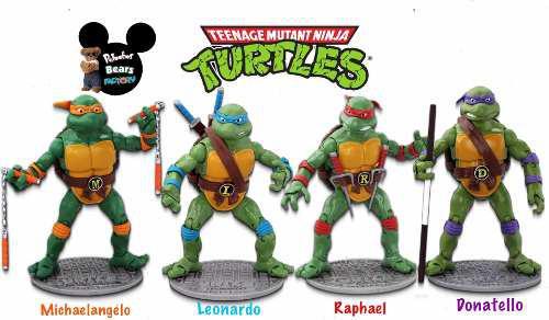 Tortugas ninja teenage mutant ninja turtles- set figuras
