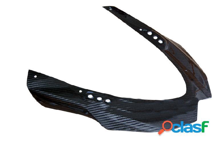 Revestimiento de fibra de carbono para cubrir el faro de motos Motos Suzuki GSX
