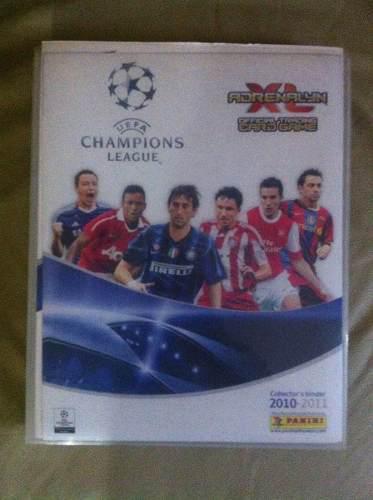 Adrenalyn xl champions league 2010 - 2011 album completo