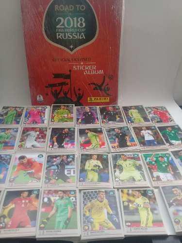 Album road to rusia 2018 fifa word cup completo a pegar