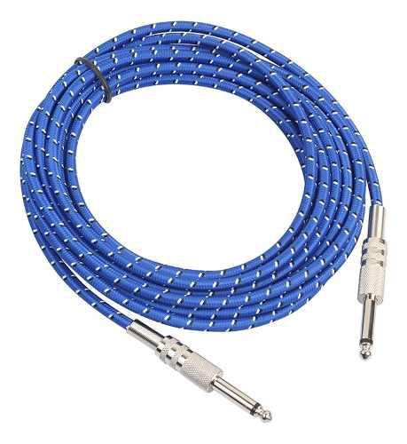 Cable alargador de audio para instrumentos musicales (6,35 m