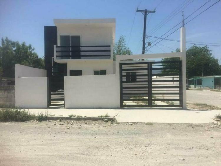 Casa Nueva en Col. Portes Gil, en Cd. Victoria, Tam