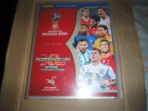 Coleccion de tarjetas adrenalyn xl rusia 2018