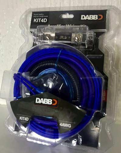 Kit de instalacion calibre 4 dabb kit4d nuevos+ regalo