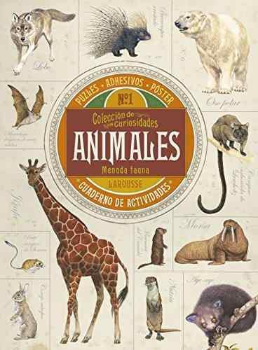 Libro coleccion de curiosidades. animales (cuaderno activida