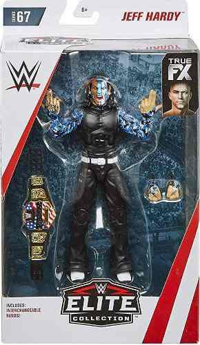 Wwe Jeff Hardy Figura Elite Serie # 67 Nuevo Nunca Abierto