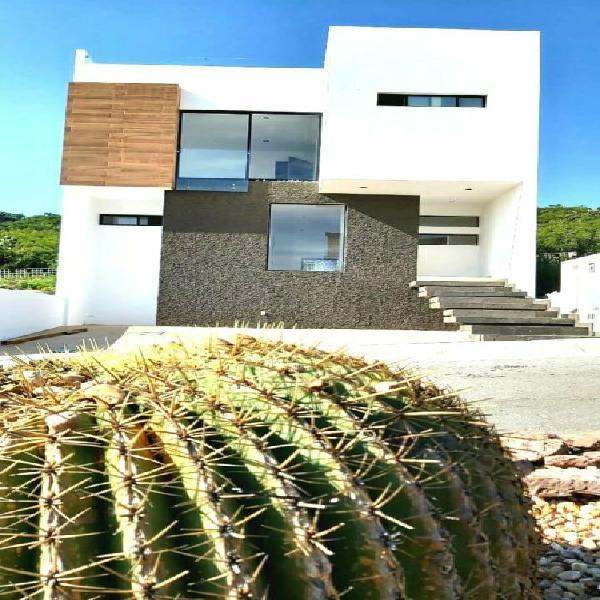 Zibata hermosa casa en la reserva protegida recamaras con