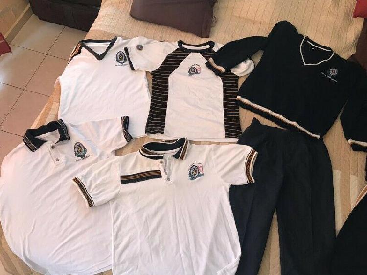 A la venta uniformes de secundaria benito juarez