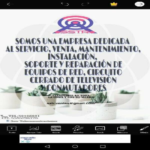 Camaras de video vigilancia (cctv)