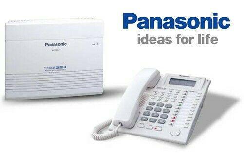 Conmutadores telefónicos panasonic, cctv, video porteros y