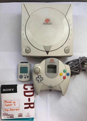 Consola Sega Dreamcast En Excelentes Condiciones