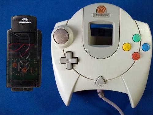 Control Sega Dreamcast Original Gratis Memory Tremorpak Plus