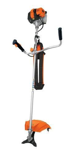 Desmalezadora a gasolina 52cc tipo bici 2 hp truper 11032