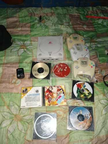 Dreamcast Con Controles Memoria Y Juegos